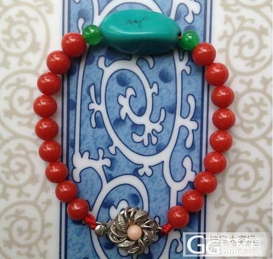 DIY手链_有机宝石