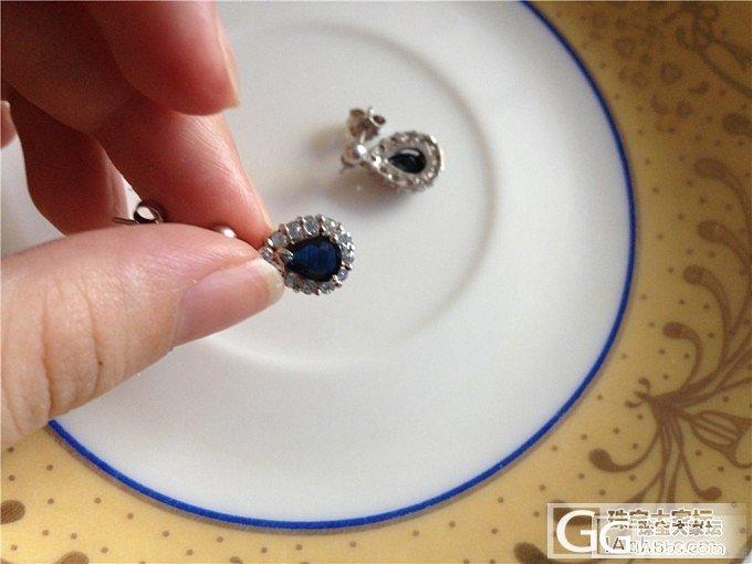 转两925银镶嵌昌乐蓝宝石饰品,吊坠和耳钉,搭车转多米琥珀竹子和玫红碧玺戒指_银
