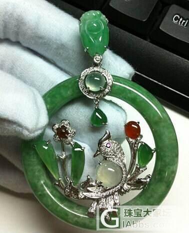最近新出的作品,每个都是独一无二的设计,有需要镶嵌的可以私聊我_珠宝