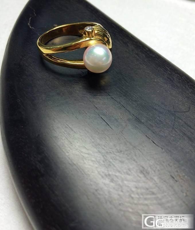 AKOYA珍珠强粉光 8.4MM 钻..._博物馆