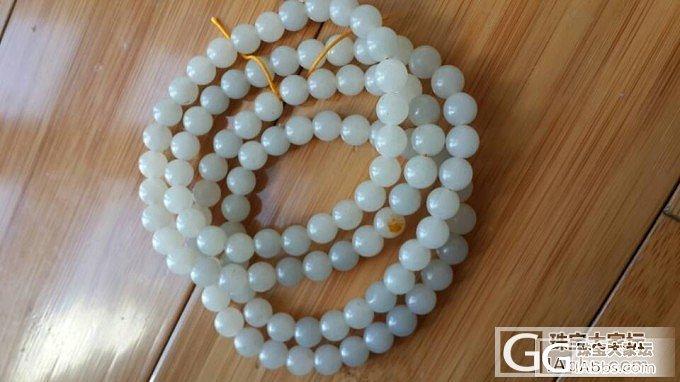 有沁点和青花的籽料珠子值得入吗?_和田玉