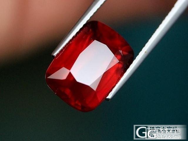 震撼无比的一颗巨型红宝石_珠宝