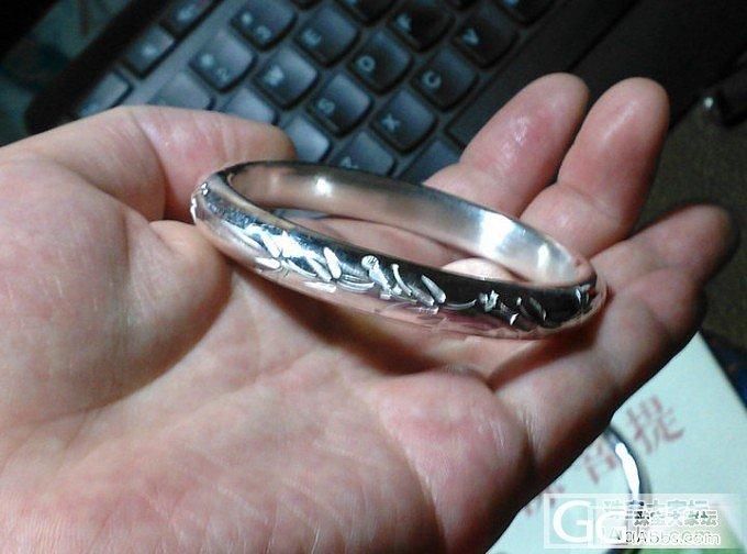 新收到的珍家的东东,半年工期等来的,_吊坠手镯戒指银
