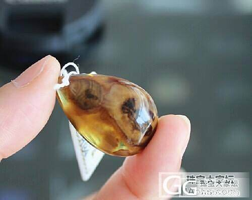 【收藏级别】4967缅甸天然琥珀 蜜蜡吊坠2.93克 送证书_有机宝石
