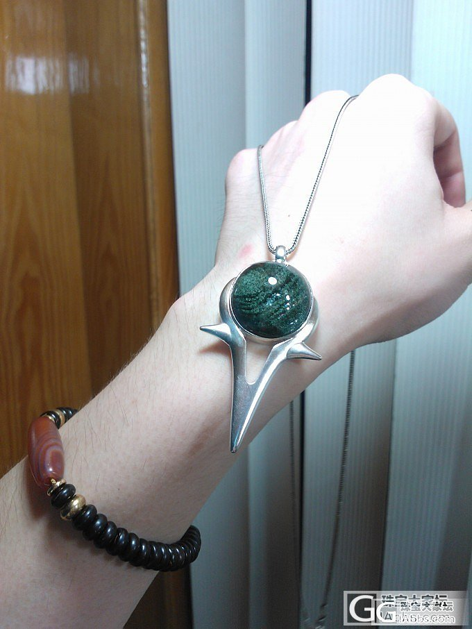 定制的绿幽灵吊坠,我是绝对不会变成绿巨人的..._幽灵晶