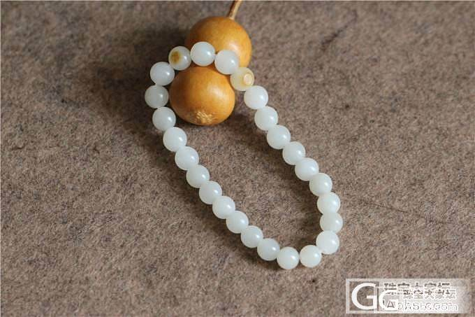 和田玉籽料满皮弥勒&和田玉籽料圆珠手链_传统玉石