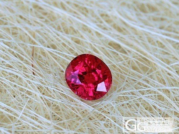 一颗很漂亮很顶级的红宝碧玺刻面,大家觉得值得收藏吗?_碧玺刻面宝石