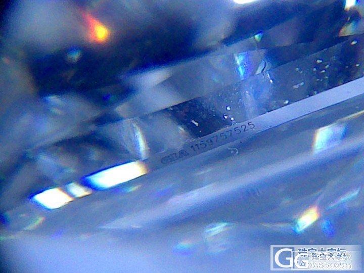 咨询个问题呀,这个GIA证书编号字体..._钻石