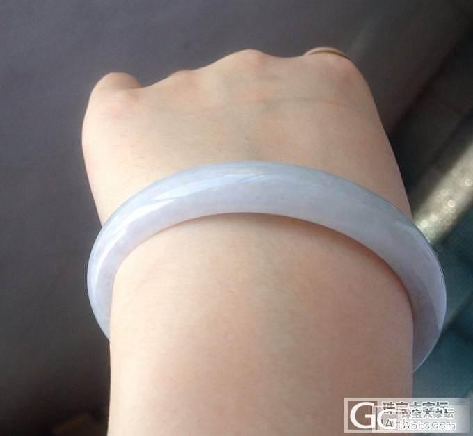 夏日小清新的镯镯_手镯翡翠