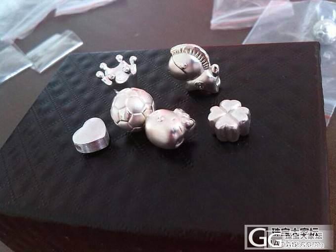 从眼馋到拥有——银版JG贝壳蜗牛和面具_吊坠配件编绳银
