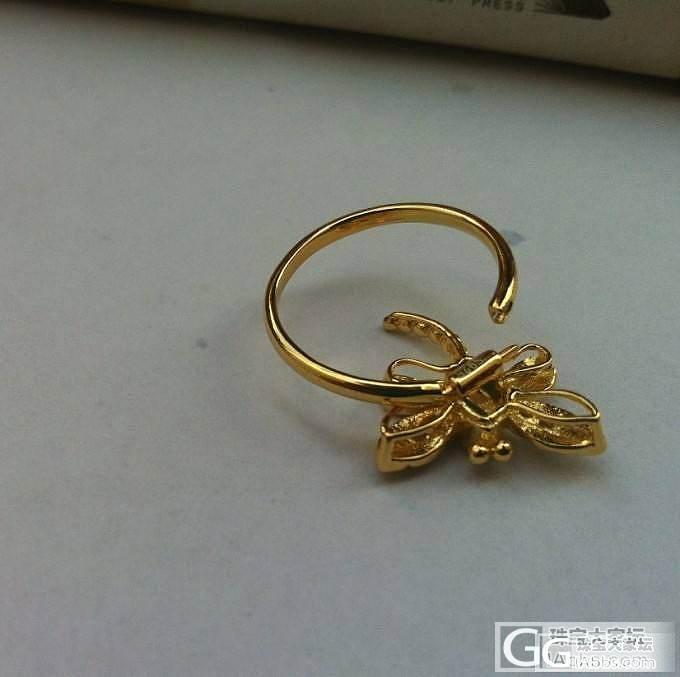 红宝石祖母绿蜻蜓吊坠戒子两用款,大家..._珠宝