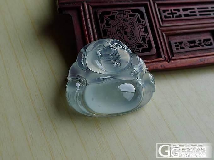 【十月】玻璃种正装坐佛