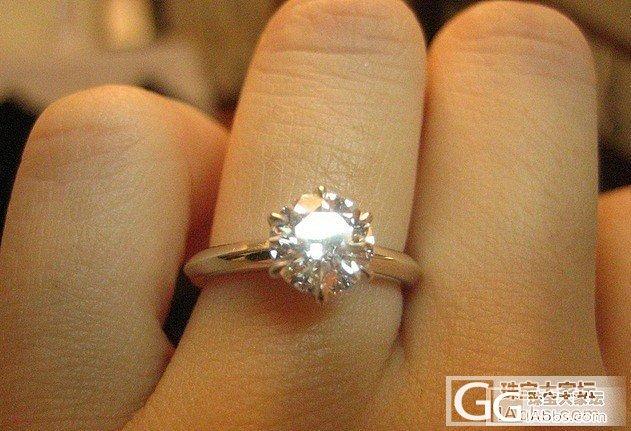 90分H/VVS,18K白钻石戒指,..._钻石