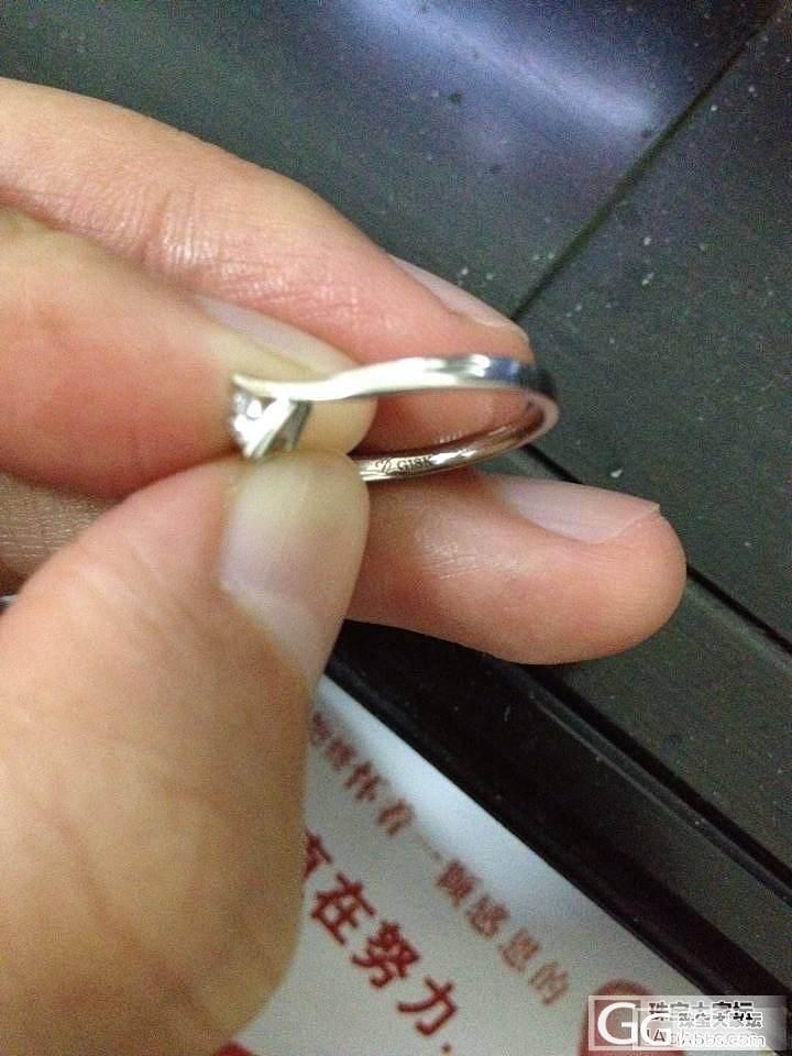 请大家帮我看看这个钻戒是什么牌子的_钻石