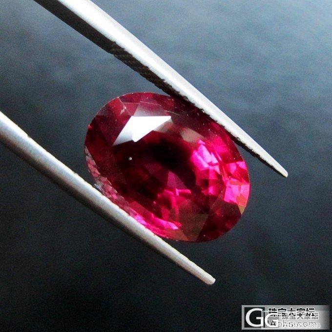 长脸 镁铝榴石 8.32ct(新拍照)_石榴石刻面宝石