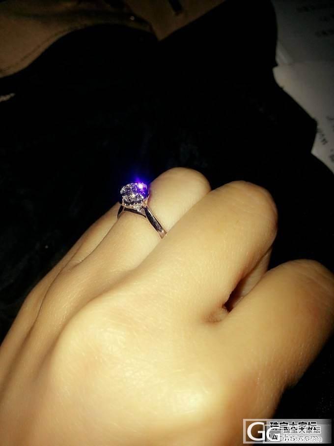 我的第一颗钻戒~求闪闪~~_钻石