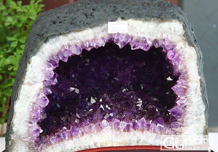 请问这是乌拉圭水晶洞吗?_洞盆簇