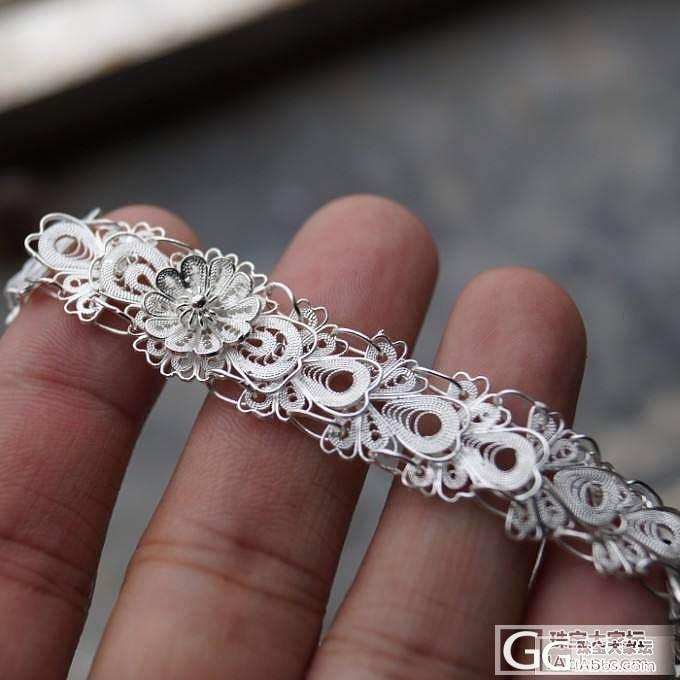 贵州凯里苗族手工花丝手链清洗的分享_珠宝