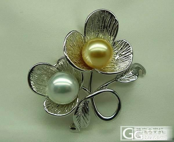 12.3:日本AKOYA珍珠项链 海水珍珠胸针  银蓝光AKOYA耳钉等_菲凡珍珠