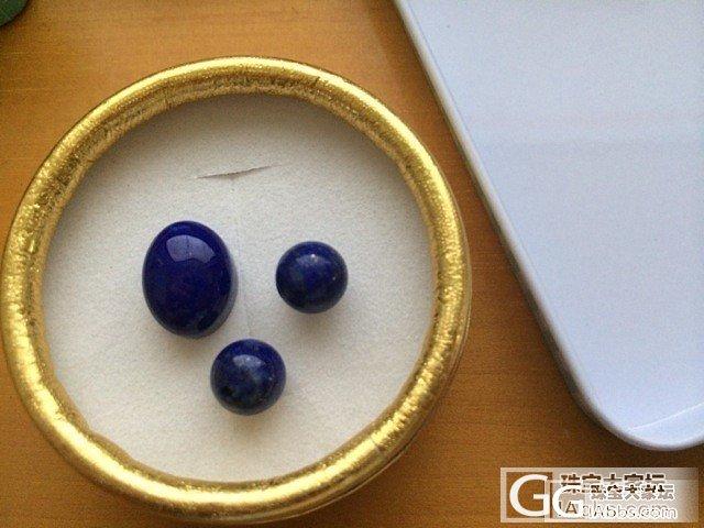 南京林师傅作品:青金的一抹深邃。等了..._青金石耳钉戒指金