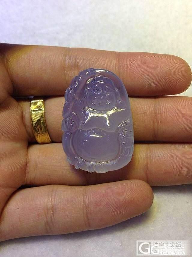 朋友从非洲带来的料做的紫蓝色玉髓,端午节特价,喜欢的坛友全部减100_珠宝