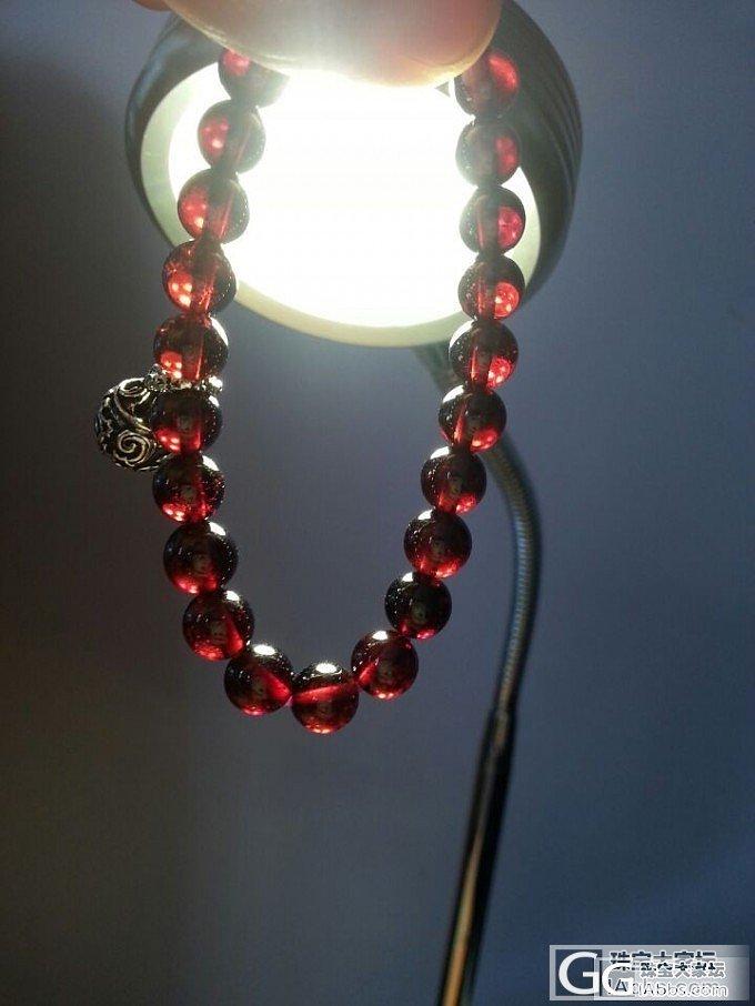 7MM酒红石榴石单圈手链,纯净,基本无冰裂_宝石