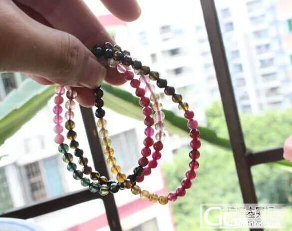 今日特价一款碧玺3圈,5MM直径珠链..._宝石