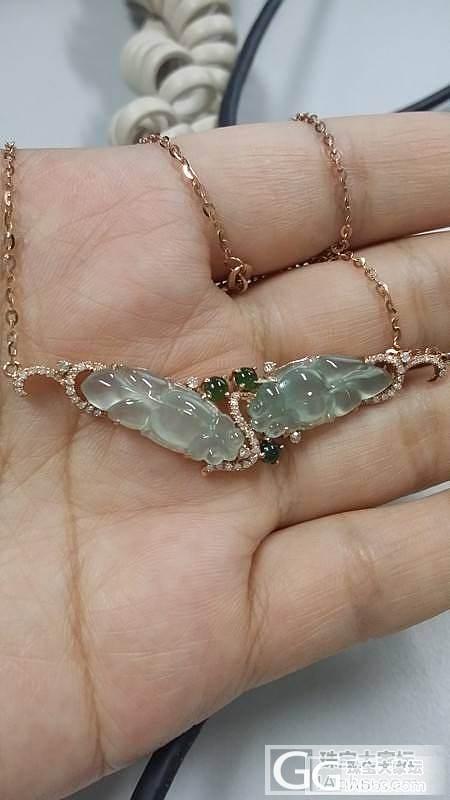 还图晴水葫芦戒指、晴水鱼锁骨链和红翡..._翡翠