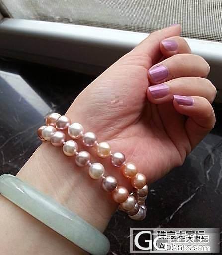 彩色淡水珍珠,你真的很美!_珍珠