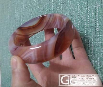 漂亮的平价玉髓玛瑙手镯_玛瑙
