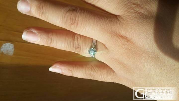 不管怎么说,买回来了,我也秀秀_钻石