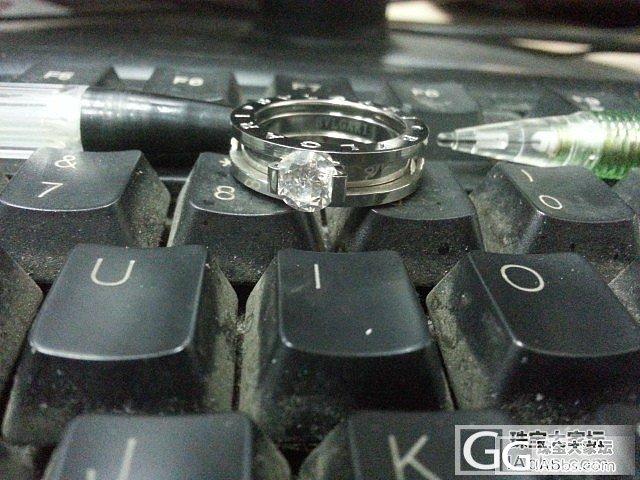 情人节礼物~宝格丽戒指_钻石