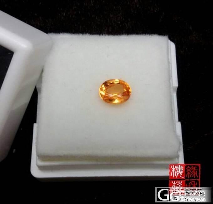 【缘和楼】芬达色锰铝榴石,橙色宝石也可以这么美丽_珠宝