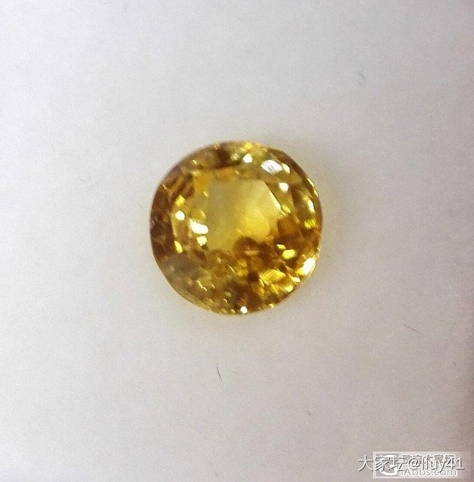 黄色蓝宝石颜色不匀的问题,且整颗宝石外观有四五个可见小坑点(有大图,求解惑)_蓝宝石