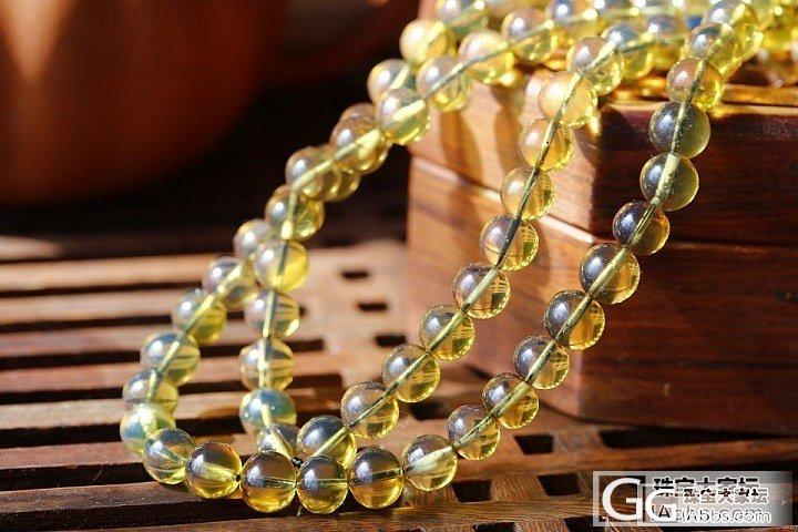 我的名字叫——缅甸金兰_金珀项链琥珀