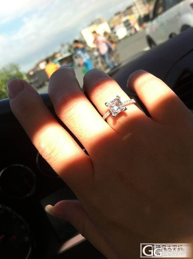 出售GIA现货一颗,公主方主石141..._钻石