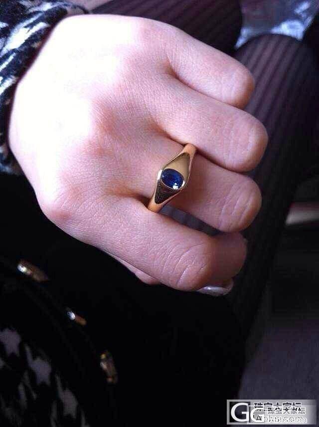 斯里兰卡蓝宝石戒指_宝石