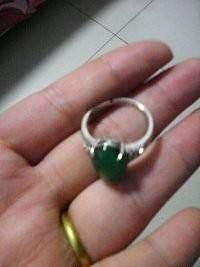 还图贴----瑜彩轩珠宝的绿玉髓戒指_珠宝