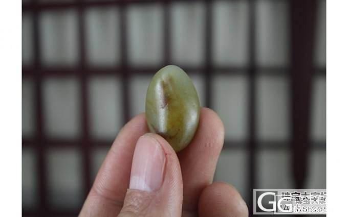 转和田玉籽料原籽手串7颗共55克_传统玉石