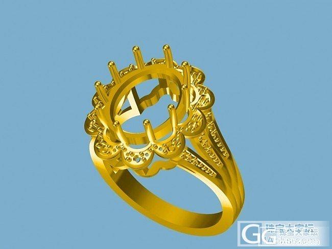 出售最新3D珠宝CAD图_珠宝