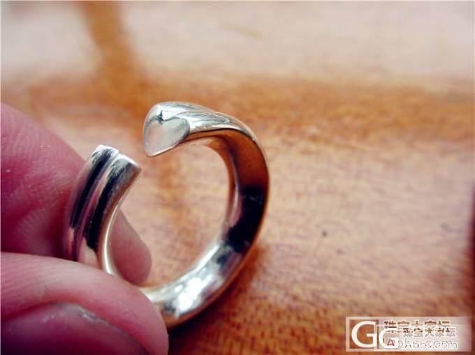 怒上『第五季』全手工的噢 新作品~_戒指银
