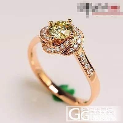 发几款美美的戒拖给大家欣赏_钻石