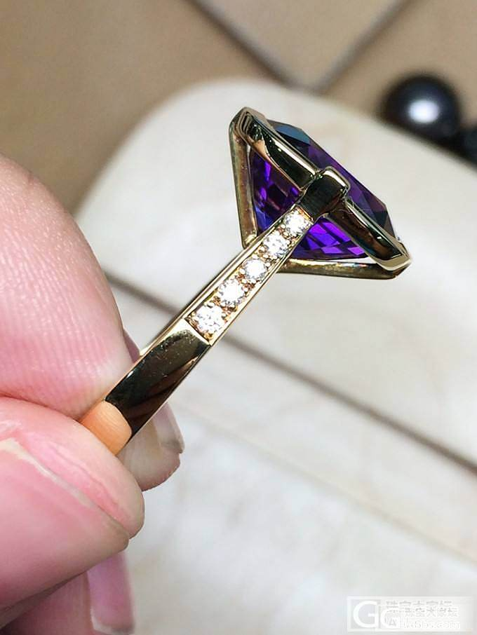 MGEMS特别设计款 紫水晶 18K..._博物馆