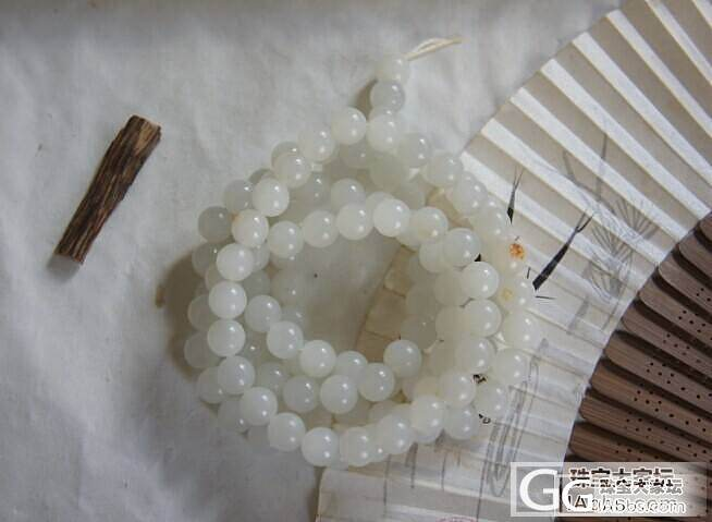 和田籽料10mm108珠子_珠串和田玉珠宝