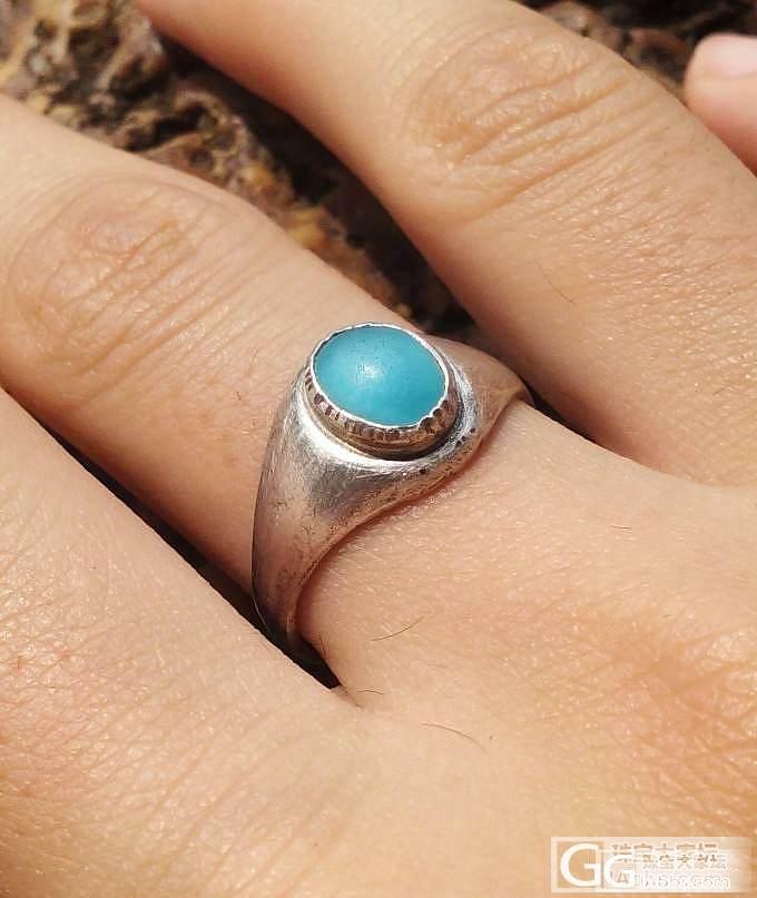 秀秀我做的异极矿纯银戒指,求指点!_宝石