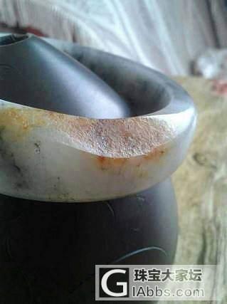 带天然皮色青花籽料手镯7000元_传统玉石