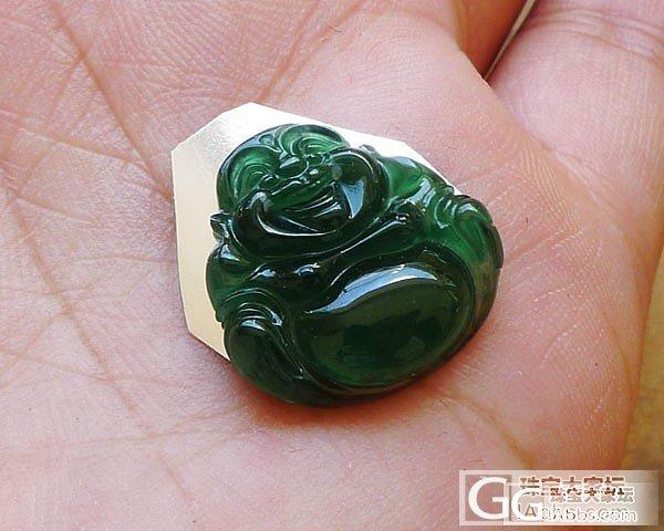 【超超翡翠】7月24日满绿龙游天下,老种佛公,满绿节节高_翡翠