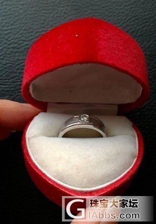 多年前的钻石戒指想请懂行的估下现在的..._钻石