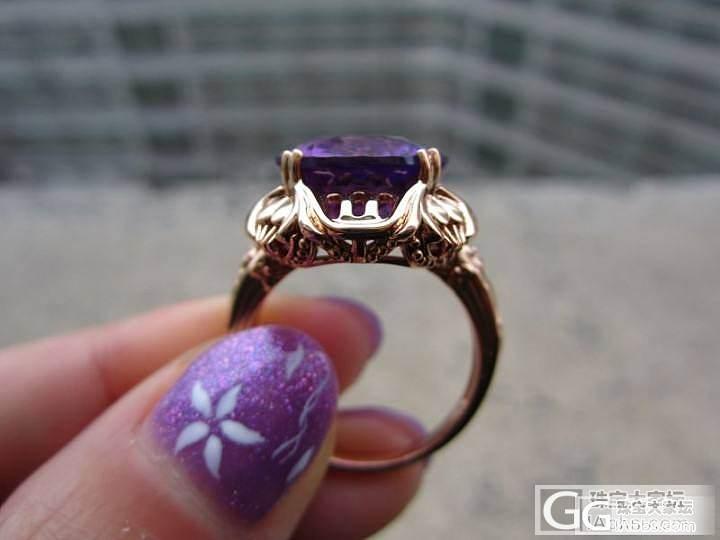 紫水晶戒指,绝对的酱油贵过鸡啊_水晶