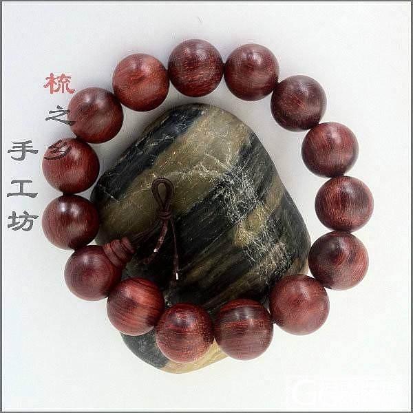 小叶紫檀1.5手串( 15颗)280元包邮哦_珠宝